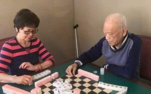 Playing Mahjongg